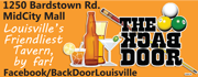 The Back Door is Louisville's Friendliest Tavern.... by far!