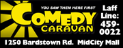 Live Stand-Up Comedy, Leo's People's Choice Awarding winner.  Bearno's Pizza, Nathan's Hot Dogs, Graeter's Ice Cream, bottomless bowls of hot popcorn. Comedy Caravan... It's Cheaper Than Therapy!