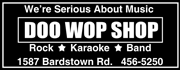 Doo Wop Shop - We're Serious about Music.  Rentals, Sales and Service.