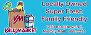 Your local family-friendly Grocery with super fresh produce, dairy, meats, baked goods and deli!